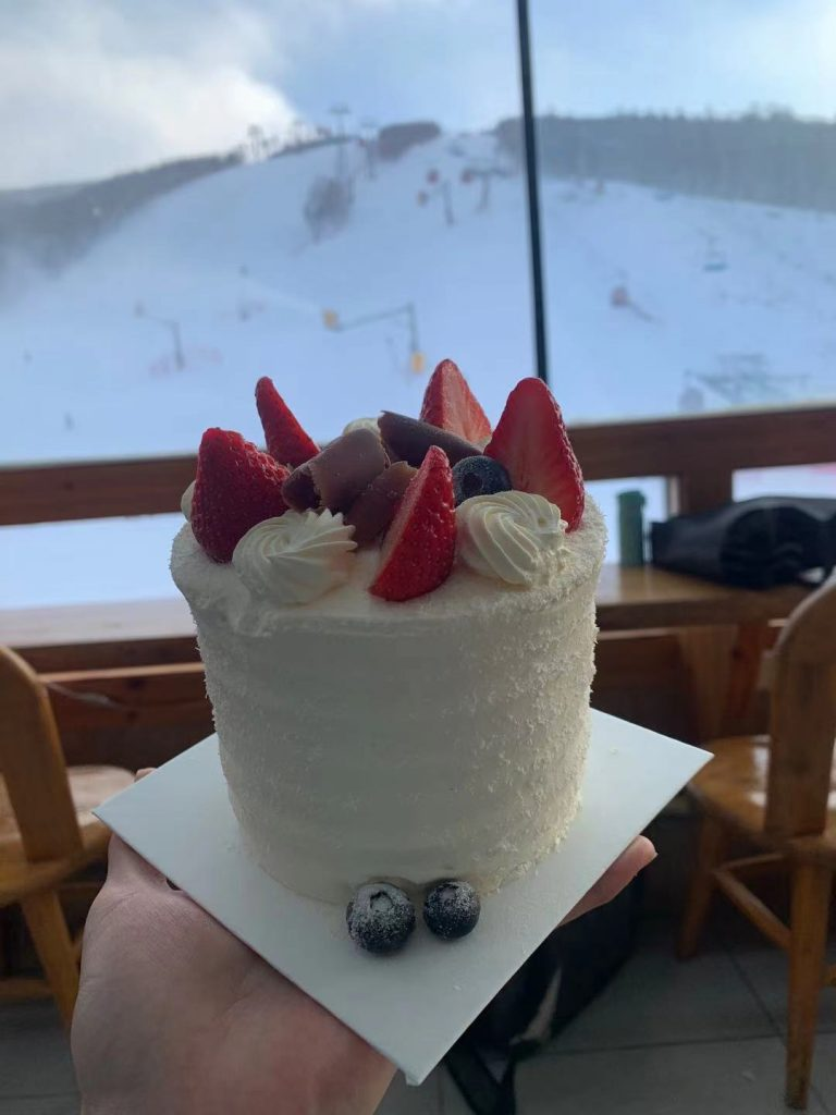中國崇禮萬龍滑雪場飲食推介 white mileage